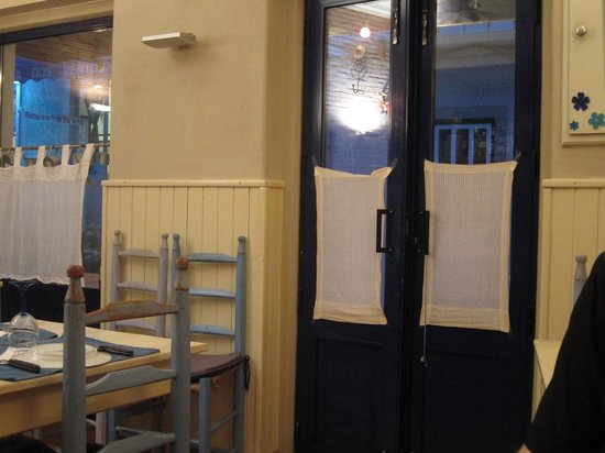 Blue Jardim - Cafe e Restaurante: Blick aus der Tür