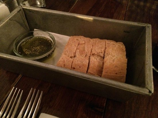Audrey Claire: Bread with herb oil