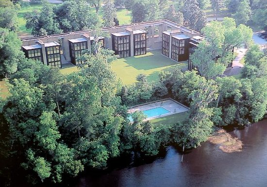 Inn at Middleton Place: Aerial view from brochure