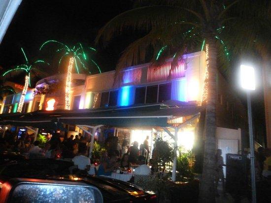 Restaurants Along Ocean Drive Picture Of The Barbizon