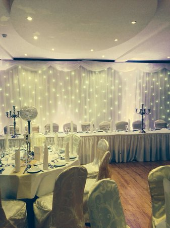 Oranmore Lodge Hotel : Wedding set up