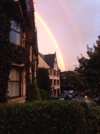 Oranmore Lodge Hotel: Rainbow