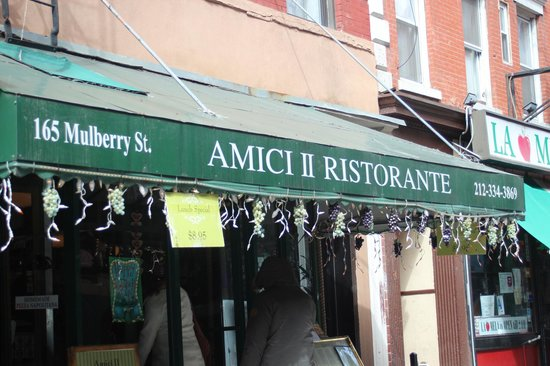 Little Italy: onde almocei
