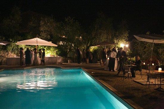 Podere Jana: Beautiful pool area