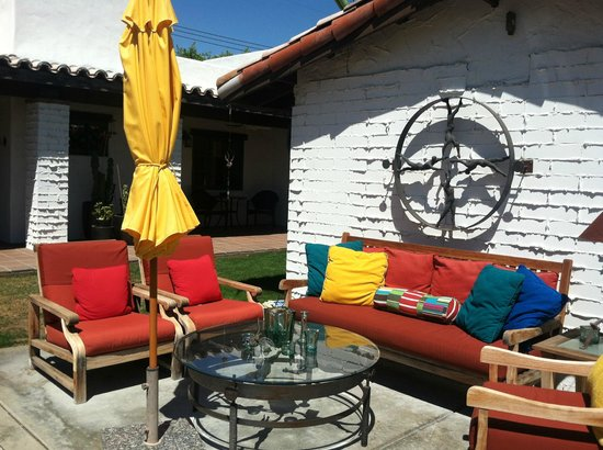 Casa Ocotillo: Outdoor patio