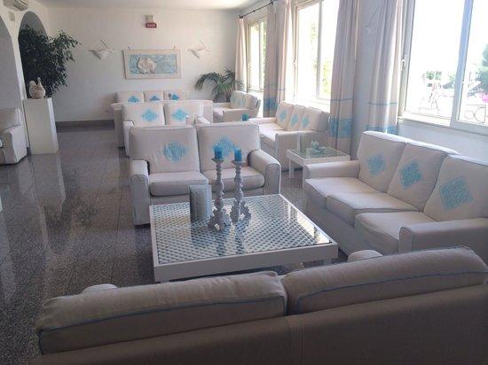 Hotel Gabbiano Azzurro: Die Lobby