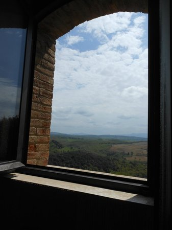 Casa Moricciani: shower with a view Stella Fisse