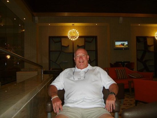 Moon Palace Cancun: Relaxing after a great game of golf!