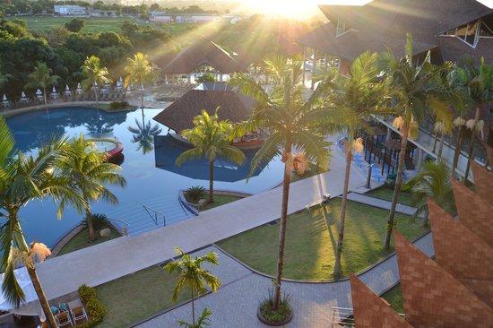 Recanto Cataratas Thermas Resort & Convention: O amanhecer no Hotel
