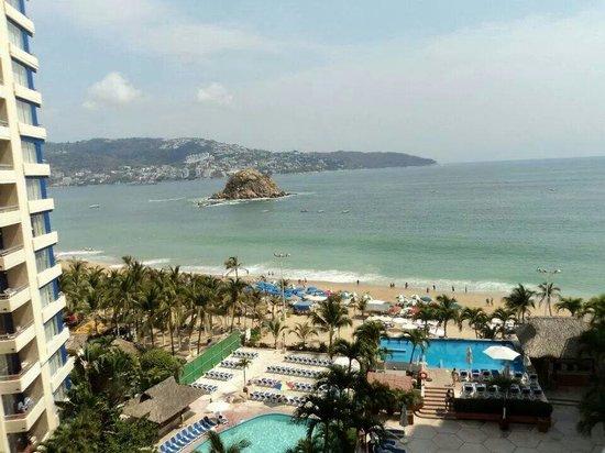 Gran Plaza Hotel Acapulco: Desde la habitación