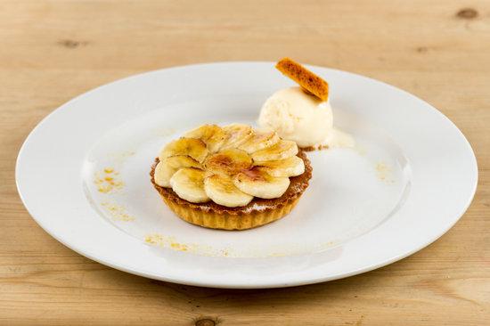 Randolph Hotel: Treacle Tart with Caramelised Banana