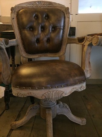Miller of Mansfield: Our lovely receptionist's chair