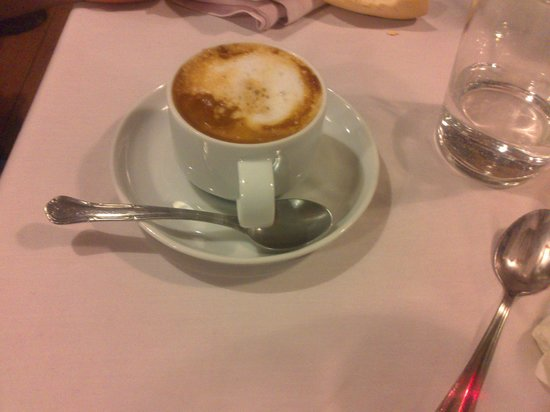 La Fonda del Arcediano de Medina: café con gotas