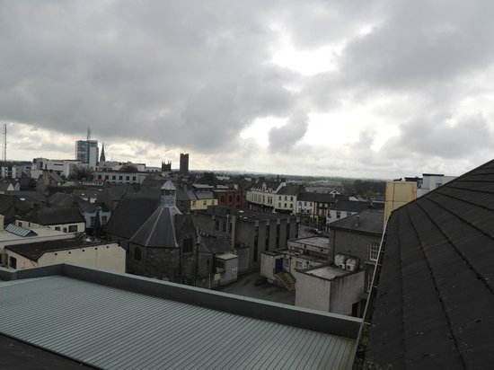 Radisson Blu Hotel, Athlone: View from our top floor Family Room Velux Window