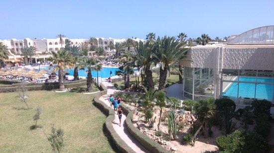 Iberostar Mehari Djerba : Vu sur les piscines depuis le 2ème étage