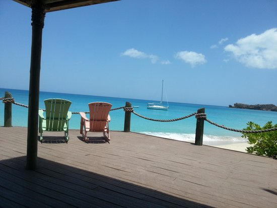 Galley Bay Resort : View from bar