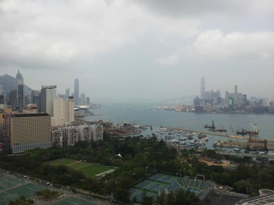 Metropark Hotel Causeway Bay Hong Kong: View from room