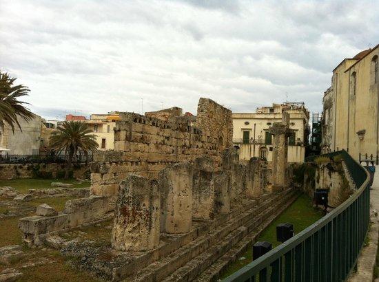 Ortigia: Il Tempio di Apollo