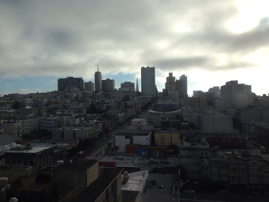 Holiday Inn Civic Center (San Francisco): View from our room.