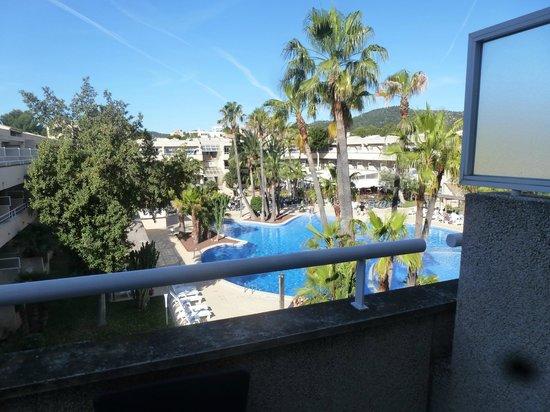 Hotel Ibersol Son Caliu Mar: vue de la chambre