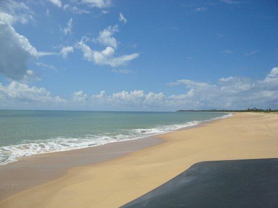 Corumbau Beach: Caminho para a Ponta do Corumbau de buggy por Caraíva
