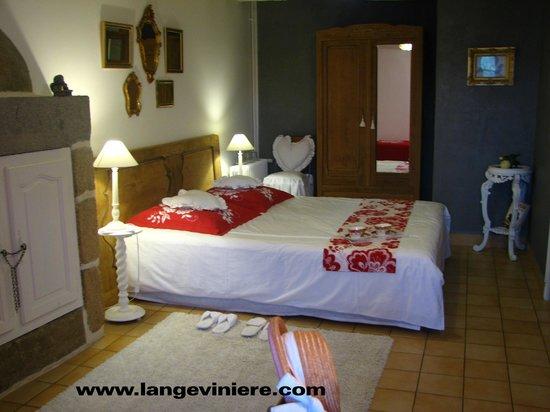 L'Angeviniere - Gites et Chambres D'Hotes : la chambre
