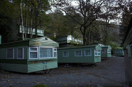 Greenhowe Luxury Lodges & Caravans: Caravan site in November 2008