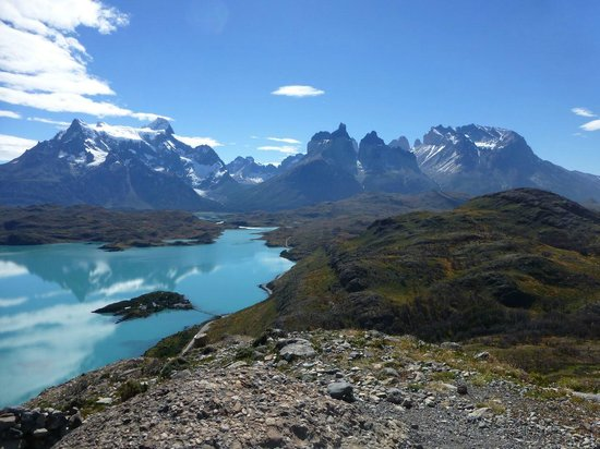 Patagonia Camp: Along the road to the base of the Torres National Park