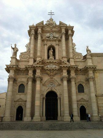 Facciata del Duomo di Siracusa