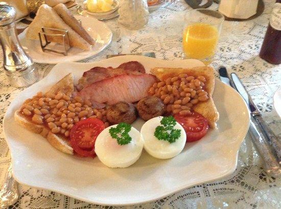 Newark Lodge Guest House: Breakfast!