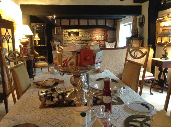 Newark Lodge Guest House : Dinning Room
