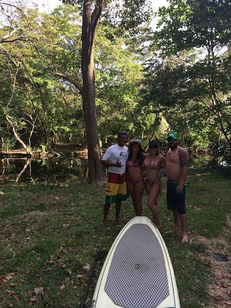 LG Surf Camp: Fun day stand up paddle boarding