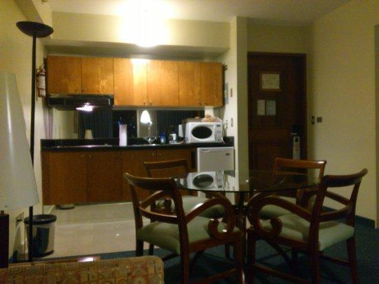 Altamira Suites: la cocina