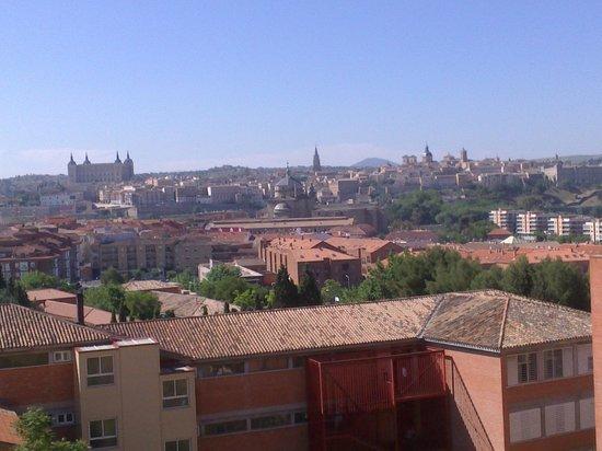 Eurostars Toledo: las vistas desde la habitación (401)