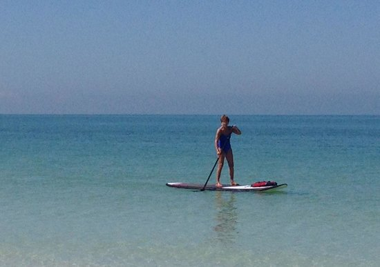 Sweetwater Paddle Sports: Perfect calm day for a beginner!