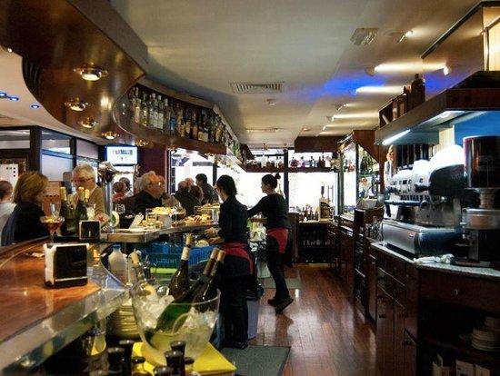 Cafeteria Euromar: barra