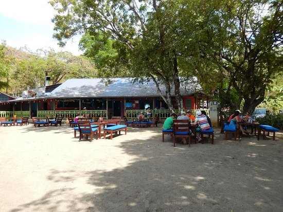 Father Rooster Beachfront Bar & Grill : great little hideaway
