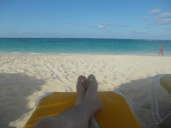 Iberostar Punta Cana: En la playa del hotel
