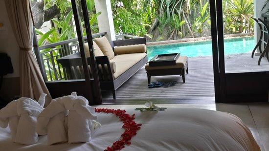 Le Meridien Koh Samui Resort & Spa: pool access suite