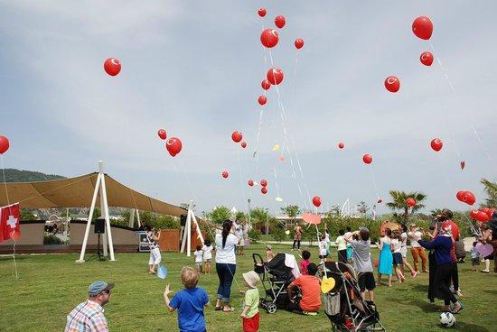 Hilton Dalaman Sarigerme Resort & Spa: Kids festival