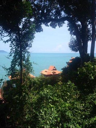 Berjaya Langkawi Resort - Malaysia : visuale dalla mia palafitta