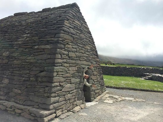 Gallarus Oratory: Don't get pulled in by the evil trolls! JK! :)