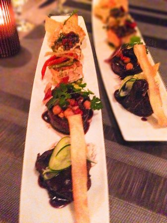 Paradisus Playa Del Carmen La Esmeralda: That Platter of Delectable Meat and Fish was to die for at Vento!!