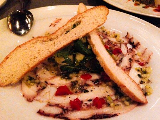 Paradisus Playa Del Carmen La Esmeralda : Mediterranean Style Octopus Salad was Heaven at Vento!!