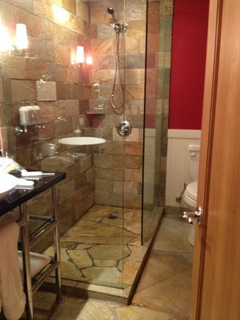 The Edgewater, A Noble House Hotel : Shower with plenty of room