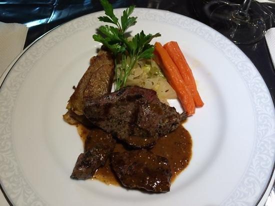 Grouchy Chef: Main dish -Lamb