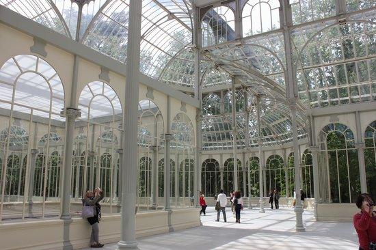 Palacio De Cristal: Interno