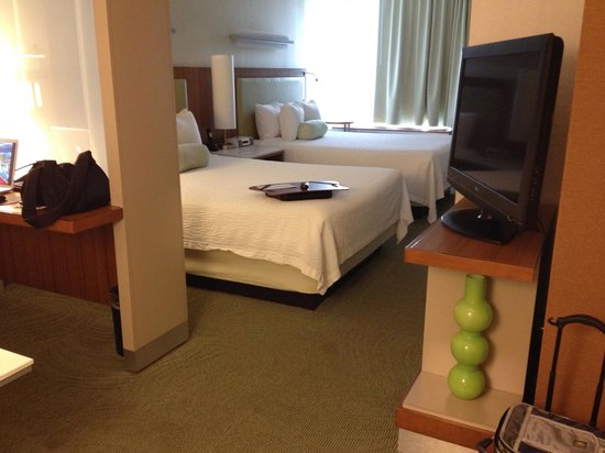 SpringHill Suites San Angelo: Queen sized beds