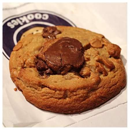 Insomnia Cookies: Chocolate Peanut Butter Cup