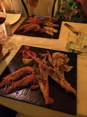 Matermatuta : Grilled crustacean platter for 2
